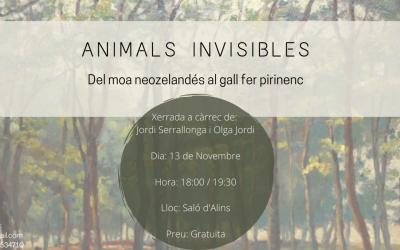 ANIMALS INVISIBLES. Del moa neozelandés al gall fer pirinenc